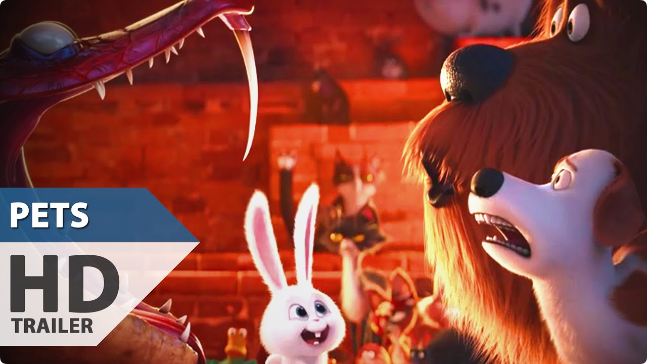 the secret life of pets trailer 3 2016 animated comedy