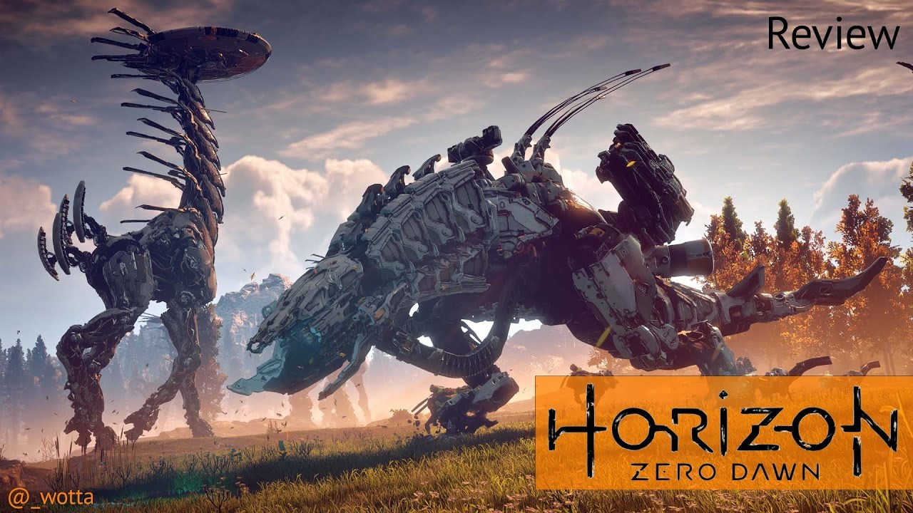 horizon zero dawn ps4 review youtube