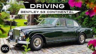Bentley S3 Continental Flying SPUR 1964 - Modest test drive - Engine sound | SCC TV