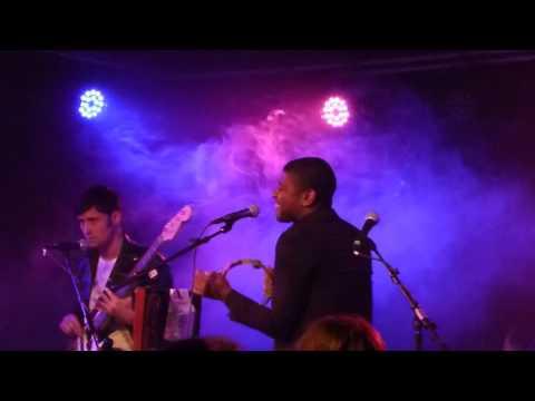 Algiers - Black Eunuch & But She Was Not Flying - live Strom Club Munich 2015-10-29