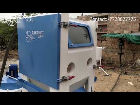 MICRO BLASTING MACHINE | PRESSURE BLASTING CABINET | INTERNAL TUBE BLASTING MACHINE