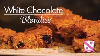 White Chocolate Orange And Cranberry Blondie's | Waitrose | In The Kitchen With Kate