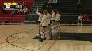 MC Sports Presents:  Gunn vs Mt View, Girls Varsity Volleyball, Oct 11 2019