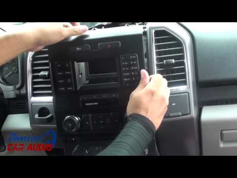 Remove Factory Stereo Ford F 150 2015 And Up