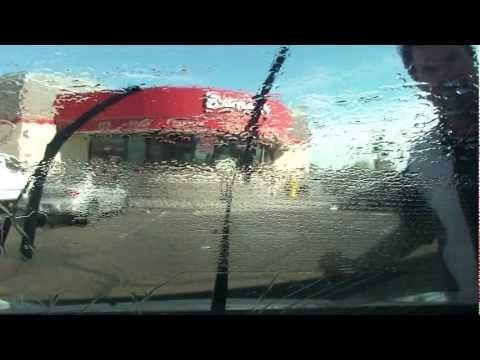 16th Street & Avenue B drive to Barney's Carwash on 24th Street, Yuma, Arizona