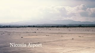 Nicosia Airport, a guided tour by the United Nations