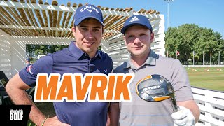 Callaway MAVRIK fitting with James Robinson