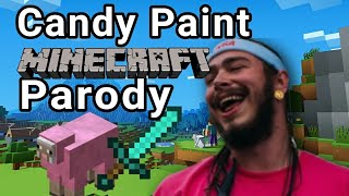 PINK DYED SHEEP | Minecraft Parody of Candy Paint by Post Malone