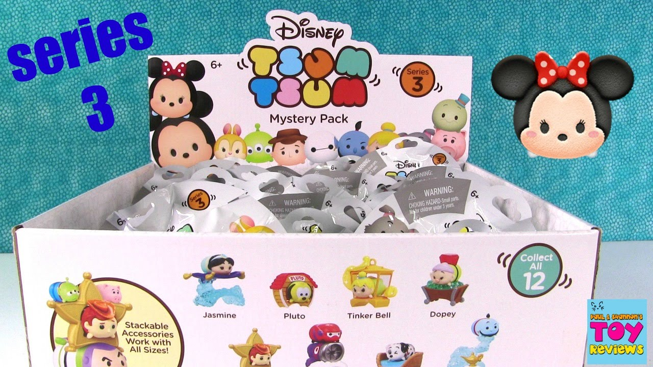 Disney Tsum Tsum Series 3 Mystery Stack Pack Blind Bag
