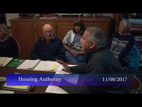 Housing Authority, November 8, 2017