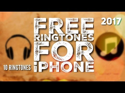 Free ringtones for iPhone - 2017 (10-Royalty free ringtones!)