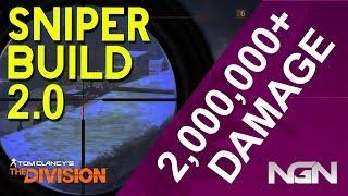 2,000,000+ DAMAGE SNIPER BUILD || 1.7 || The Division