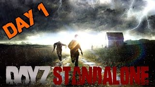 The FRIENDLY Zombie Apocalypse! Day #1 | DayZ Standalone Ep.1 - Searching for Friends! [PC HD]