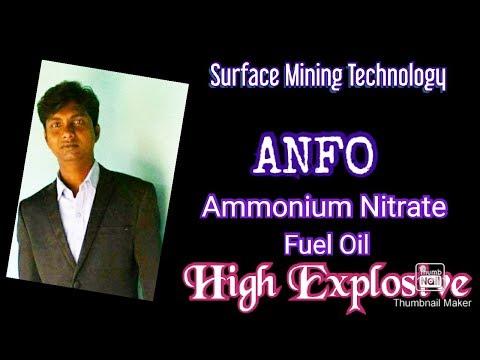 Ammonium Nitrate Fuel Oil, High Explosive