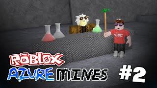 Azure Mines #2 - BASIS UPGRADES (ROBLOX AZURE MINES)