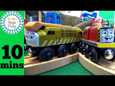 Thomas and Friends Day of the Diesels  Percy at the Dieselworks Playset
