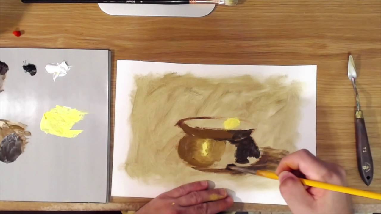 How to Paint Gold & Brass - YouTube