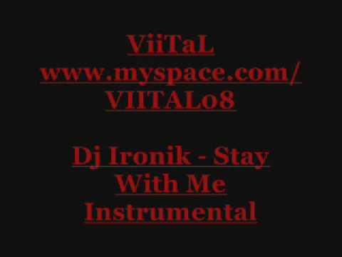 Dj Ironik - Stay With me [Instrumental]