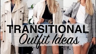 TRANSITIONAL OUTFIT IDEAS | LOOKBOOK & TRY ON | SINEAD CROWE