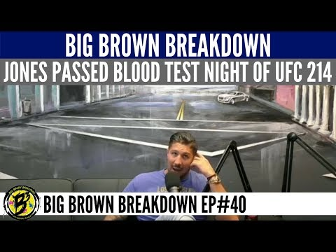 Jon Jones Passed His USADA Blood Test the Night of the Fight
