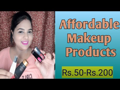 affordable makeup products  beginners makeup products