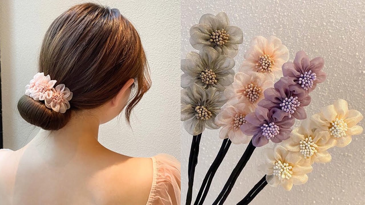 🌺 How to make a DIY Hair Bun Maker and Holder without a Sewing Machine