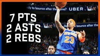 Trey Burke Full Highlights Knicks vs Jazz 1.20.18 - 7 Points, 2 Assists