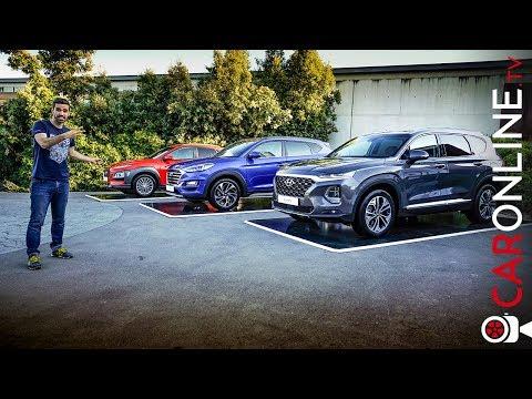 CONDUZI os NOVOS SUV da HYUNDAI | Santa Fé, Tucson e Kauai Diesel