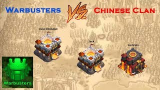 Clash of Clans War Recap: Warbusters vs Chinese Clan