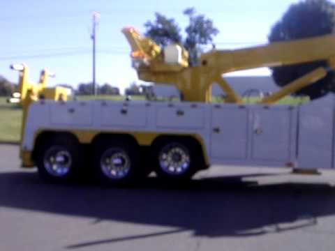 NEW 50 TON HEAVY DUTY WRECKER ROTATOR - YouTube
