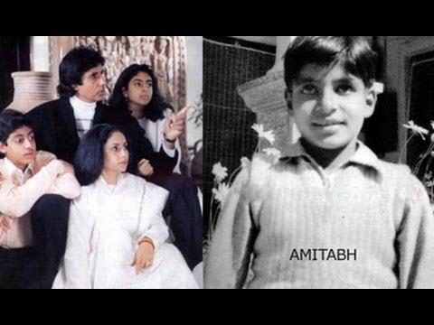 Amitabh Bachchan Family Unseen Amp Rare Pics Youtube