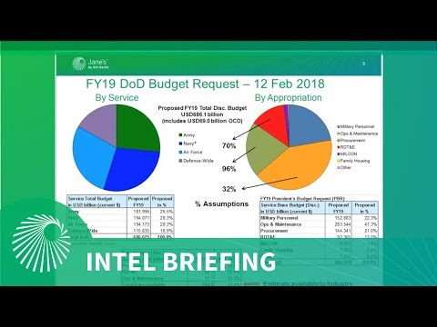 INTEL BRIEFING: US DoD FY19 Budget  Deep dive analysis