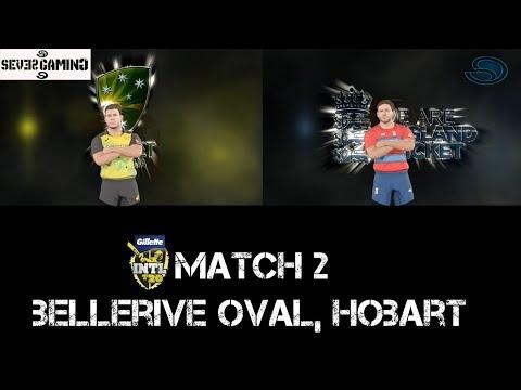 Australia Vs England T20 Tri Series Match 2 Highlights | Ashes Cricket 2017 | Gameplay PC