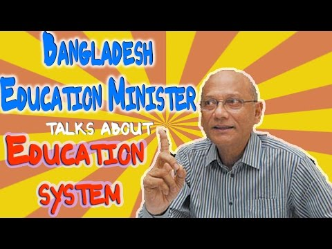Bangladesh Education Minister - Bangla funny video - Uronto Lila Khela