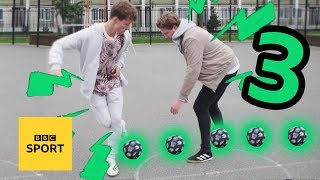 How to be a panna boss -  Three brilliant ways to nutmeg your mates - BBC Sport