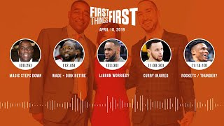 First Things First audio podcast (4.10.19)Cris Carter, Nick Wright, Jenna Wolfe   FIRST THINGS FIRST