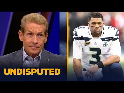 Russell Wilson's $140M contract extension was overvalued - Skip Bayless | NFL | UNDISPUTED