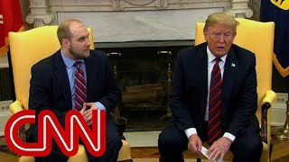 Trump meets with freed American prisoner