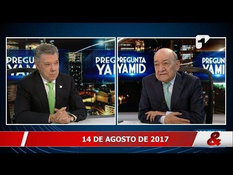 Pregunta Yamid: Juan Manuel Santos, Presidente de la República