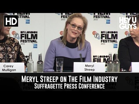 Meryl Streep on Women in the Film Industry (Using Rotten Tomatoes as Example)
