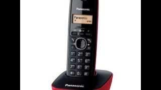 UNBOXING PANASONIC KX-TG1611 THE BEST CORDLESS