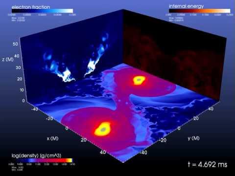 NewCompStar: Eccentric binary neutron star merger