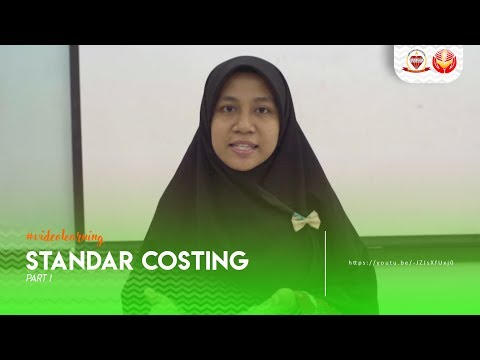COST ACCOUNTING #1 - STANDAR COSTING PART 1