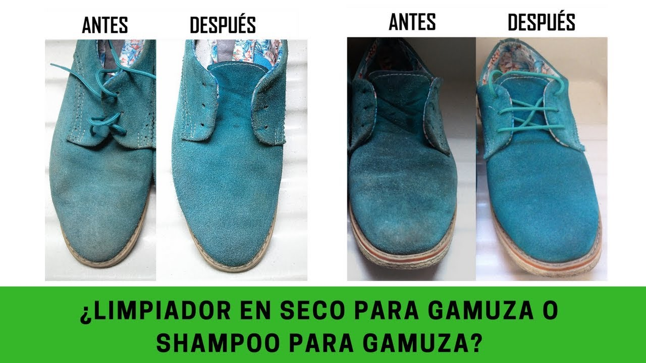 Limpieza en seco manchas difíciles en zapatos de gamuza Mejor limpiador gamuza 3xídra