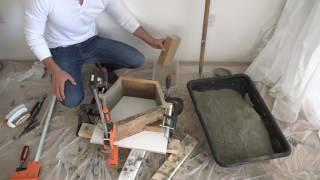 видео бетонные блоки