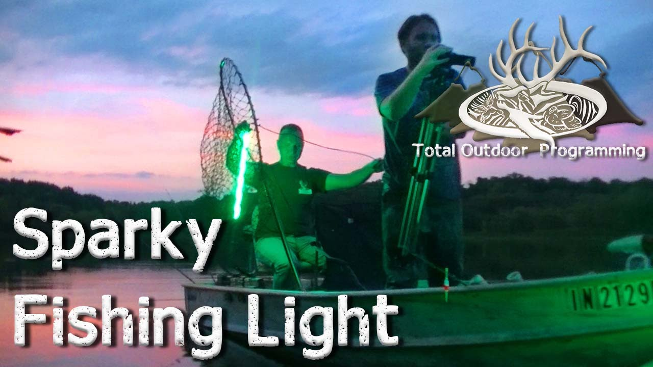 sparky submergible led night fishing light product review for, Reel Combo