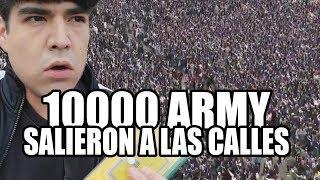 10000 ARMY EN LA CALLE POR BTS  -  ARMYPEDIA?