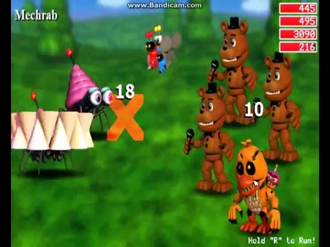 So I messed with the FNAF World file part 2 Tangle is in this game!!!