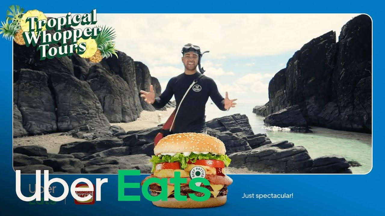 Josh | Tropical Whopper Tours | Uber Eats x Hungry Jack's