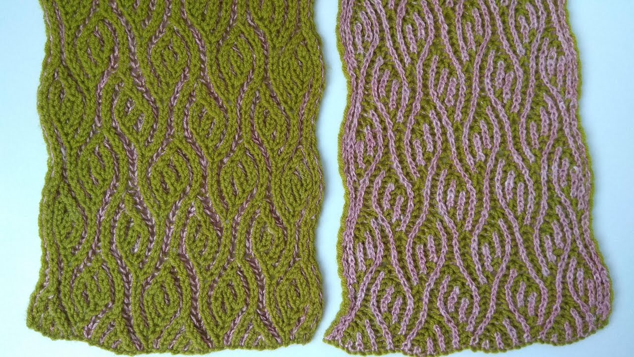 Brioche Knitting Spring Scarf Knitting Patterns Youtube